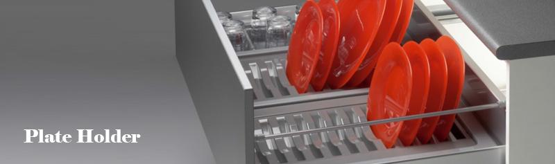 Gl And Plate Tray Modern Kitchen Modular Signet Nashik