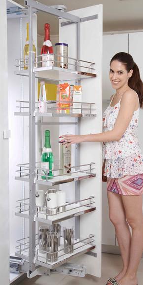 Tall Unit Swing Modern Kitchen Modular Kitchen Signet